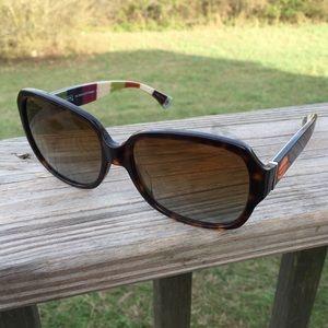 Coach legacy Stripe Bridget polarized sunglasses
